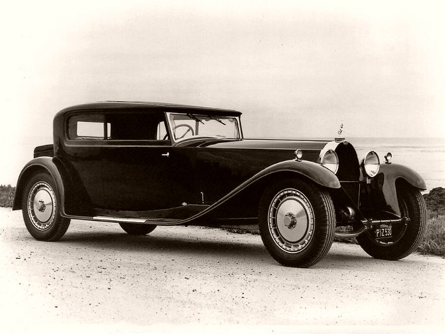 1932 Bugatti Type 41 Royale 2-Door Saloon body by Kellner