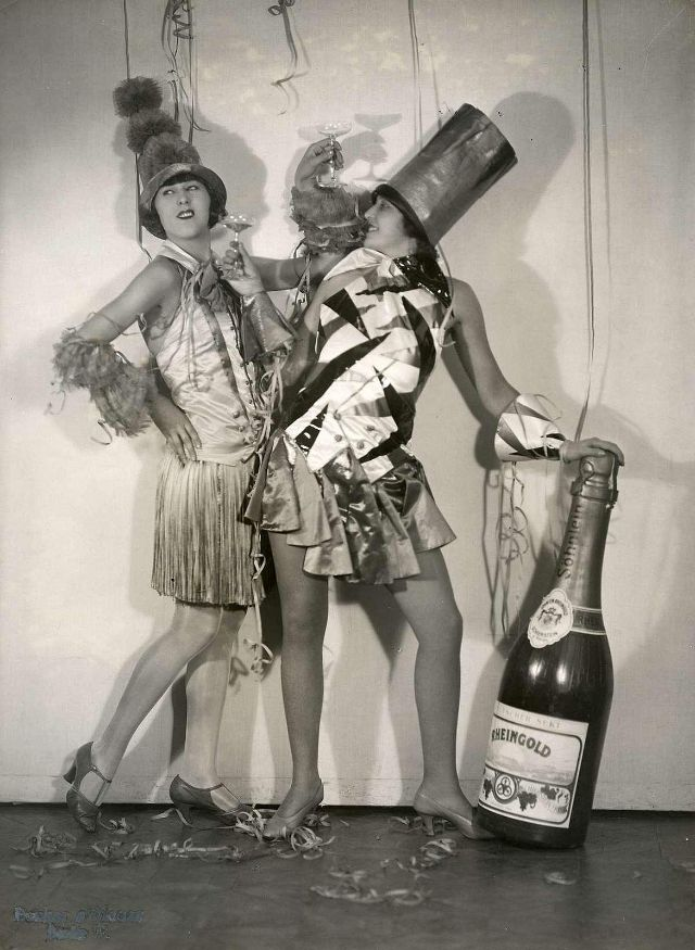 Carnival Costumes in Berlin (1928)
