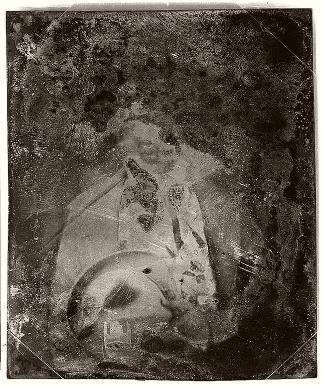 Decayed Daguerreotype Portraits by Mathew Brady Studio (19th Century)