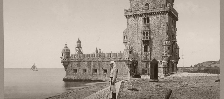 Vintage: Historic B&W photos of Lisboa, Portugal (1890s)