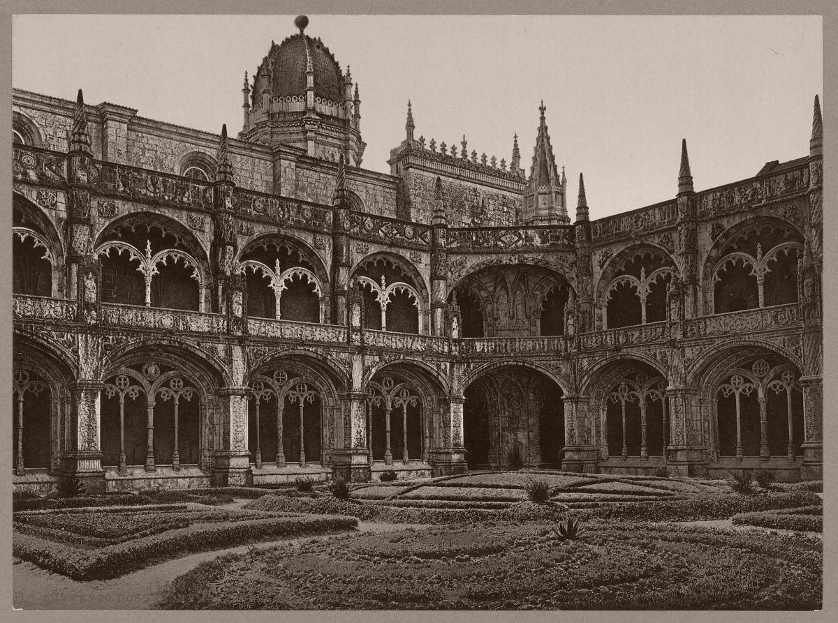 Lisboa. Convento dos Jeronymos de Belem. Claustros