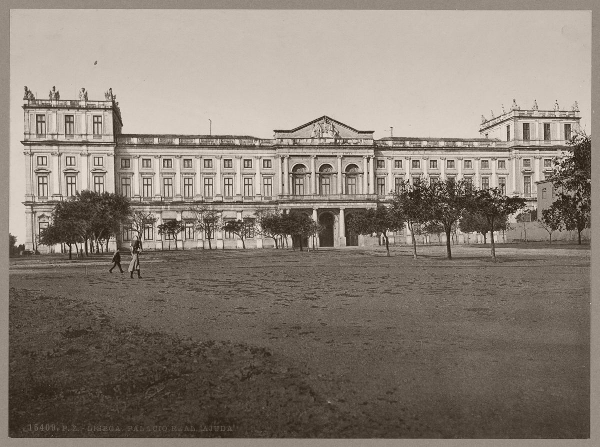 Lisboa. Palacio Real. Ajuda