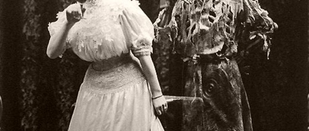 "Vintage: Victorian Play ""Death and the Lady"" (1906)"