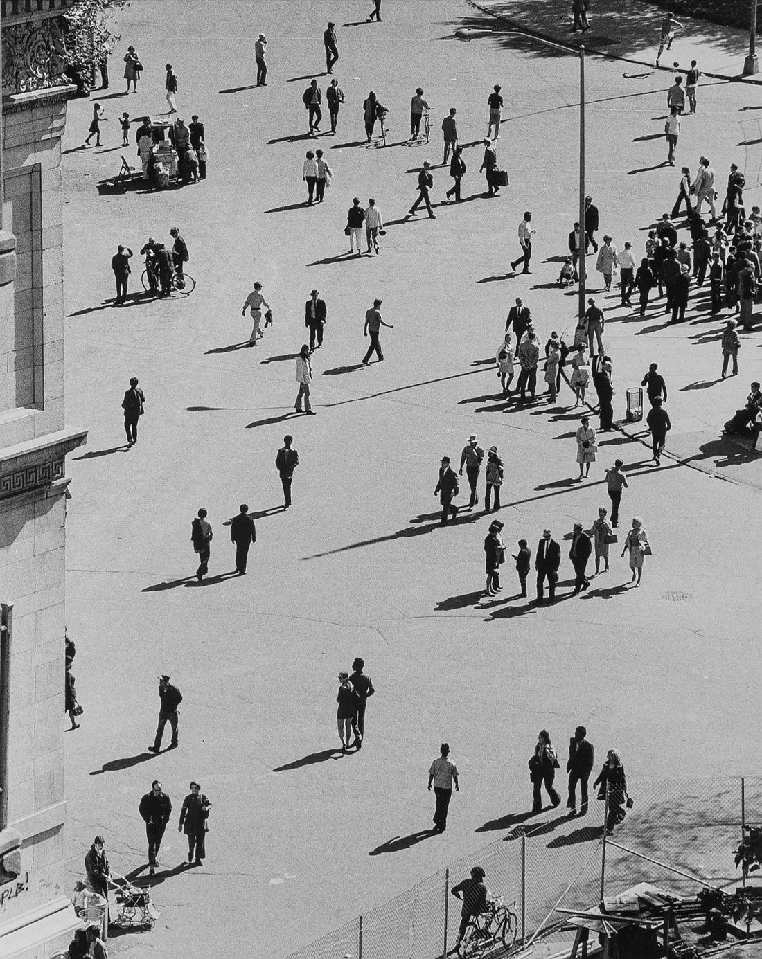 Birds Eye View, Washington Square Park, September 25, 1969, 1969