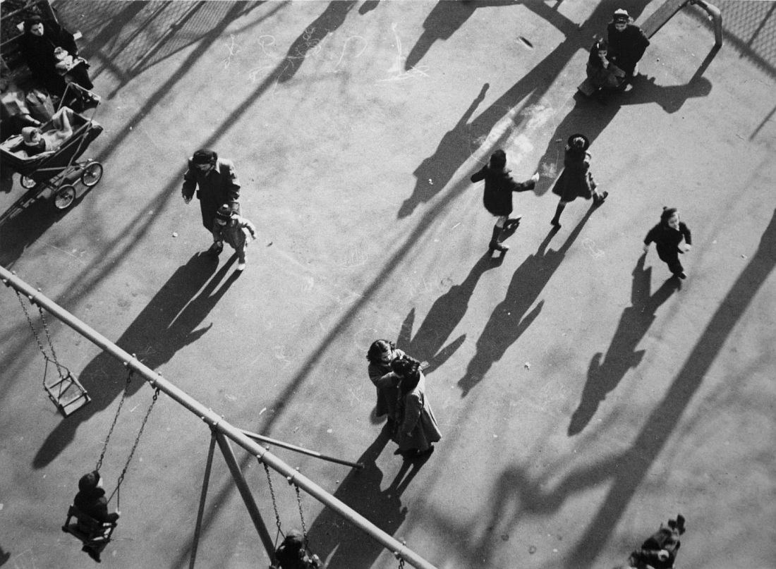 Children and Shadows in Park, 1951