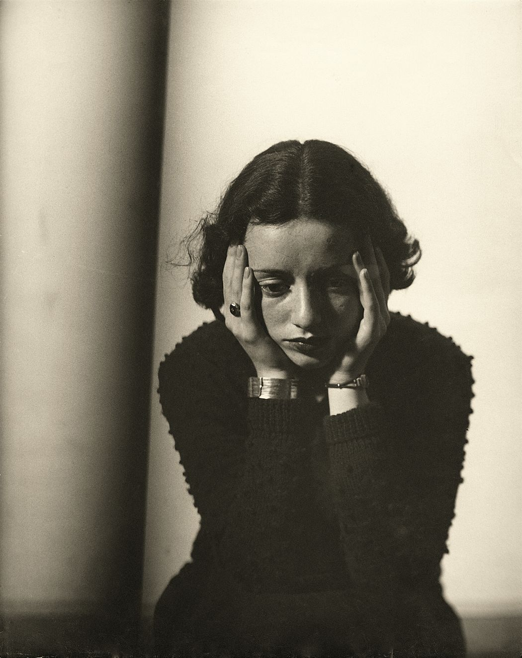 Portrait Composition, (Portrait of Lore Krüger), 1937 © Martini & Ronchetti courtesy Archives Florence Henri