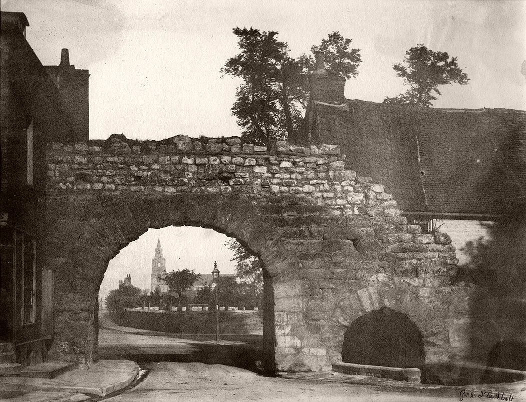 Lincoln Gateway, ca 1850