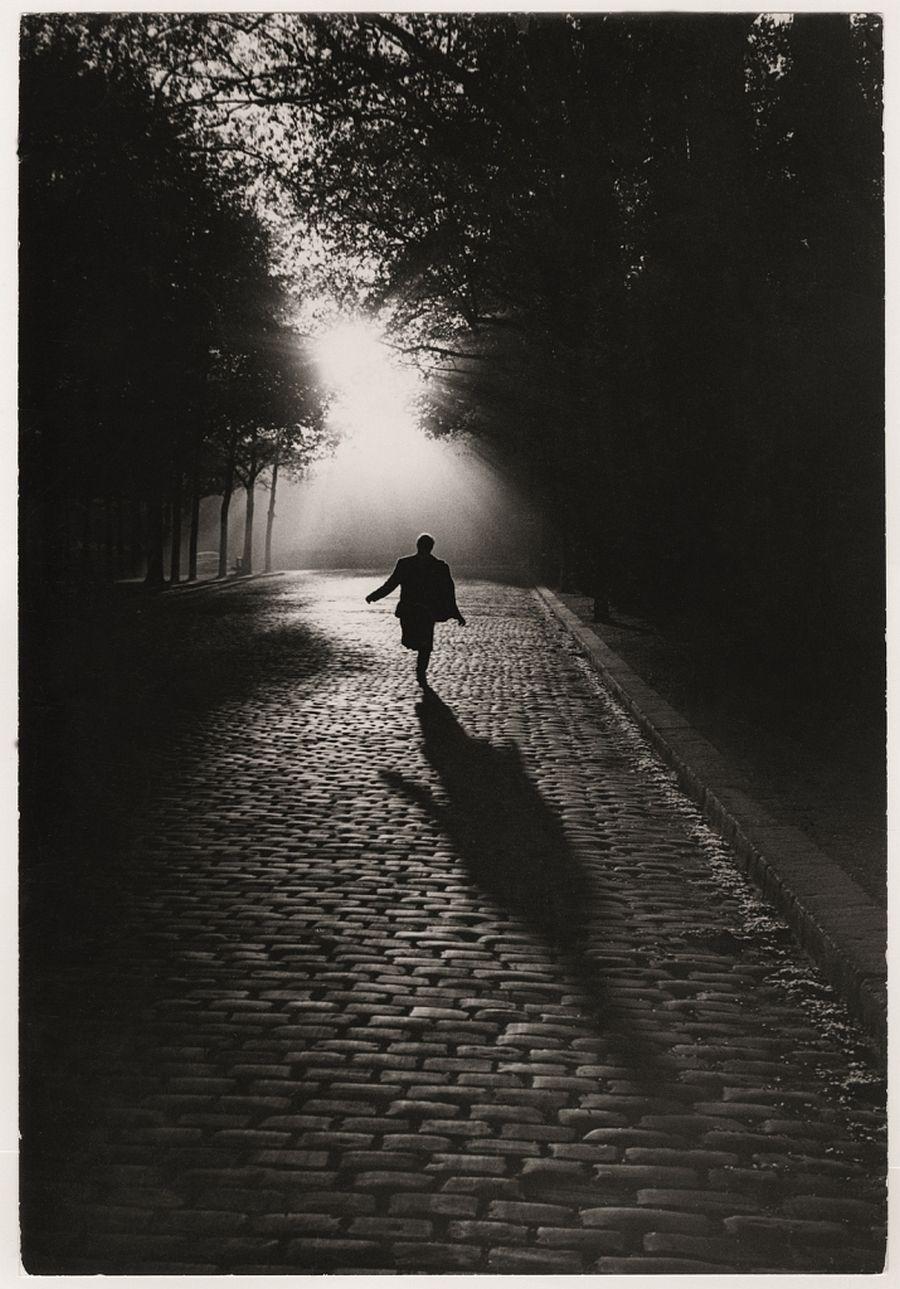 Sabine Weiss, L´homme qui court, Paris, 1953