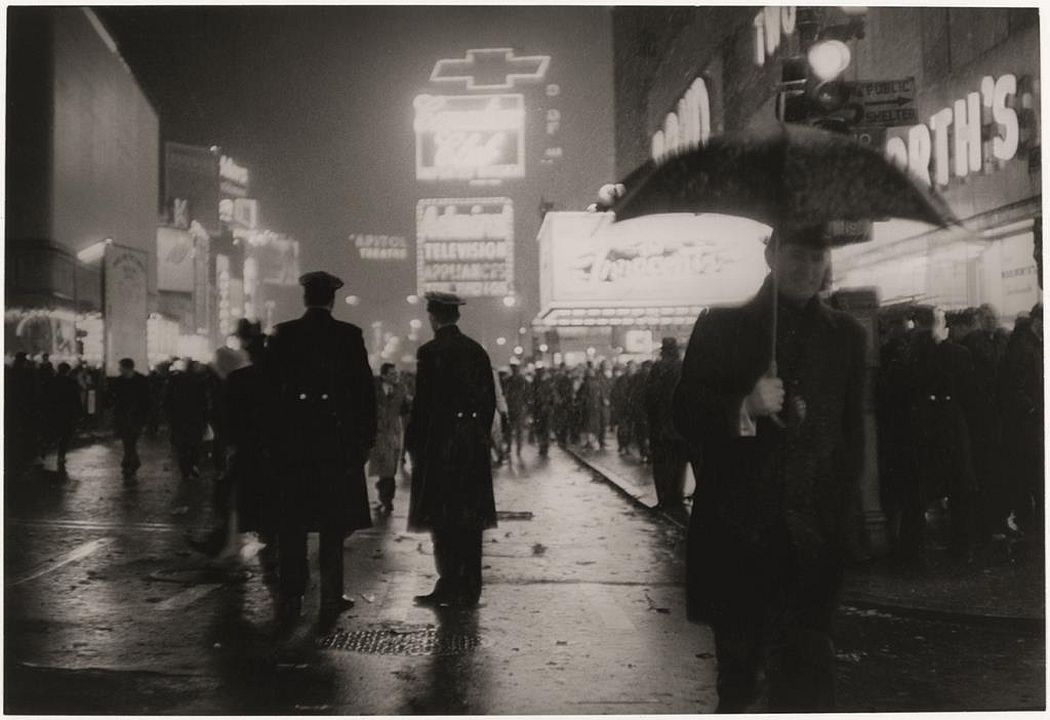 Sabine Weiss, Times Square, New York, 1962