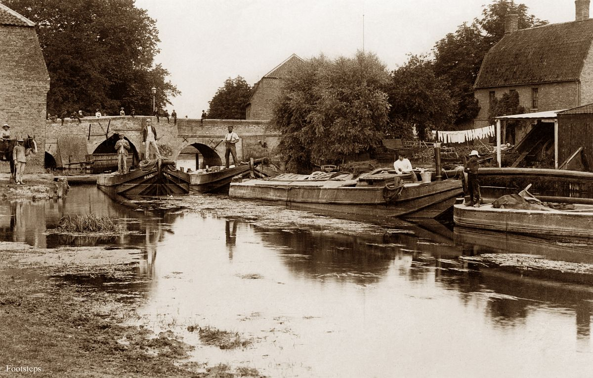 The bridge, Brandon, Suffolk  Date: about 1900