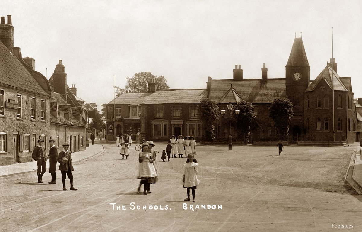 The Schools, Brandon, Suffolk  Date: about 1900 to 1910