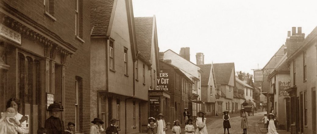 Vintage: Daily Life of Suffolk, England (Edwardian Era)
