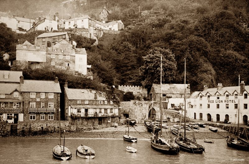 Clovelly, Devon, circa 1900-1910