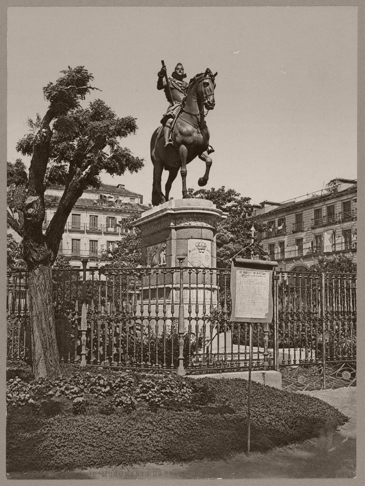 Madrid. Monumento de Felipe III
