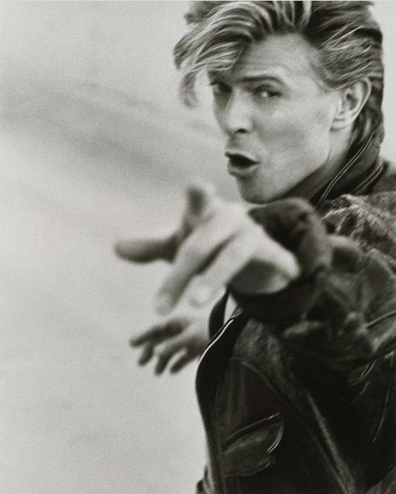 David Bowie, 1987 © Herb Ritts Foundation