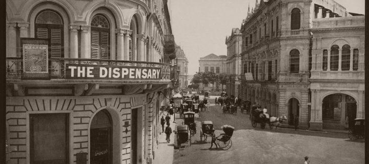 Vintage: Historic B&W photos of Singapore (1890s)