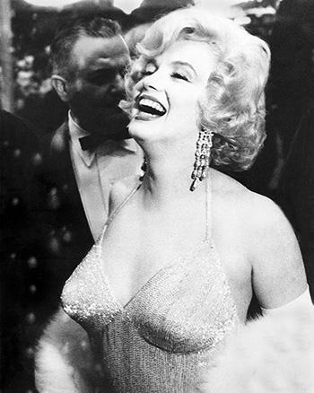 Marilyn Monroe Marilyn Monroe Attends Premier Party, 1961