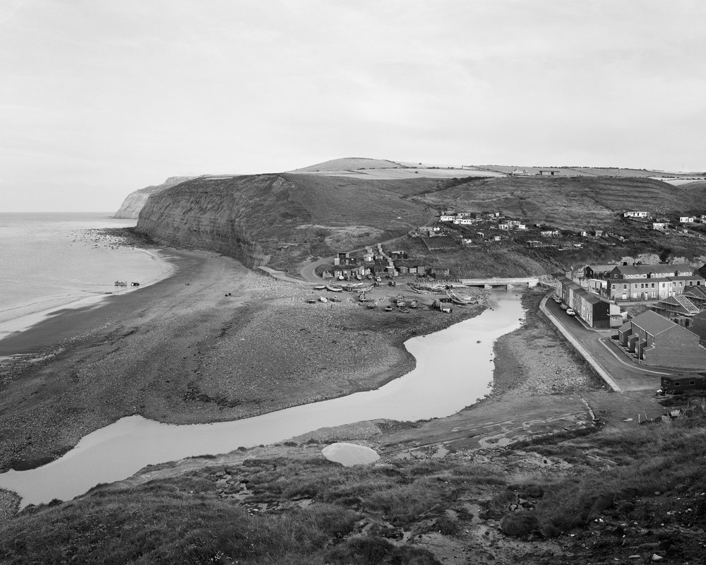 View of Skinningrove  Gelatin silver print 20 x 24 inches 1983