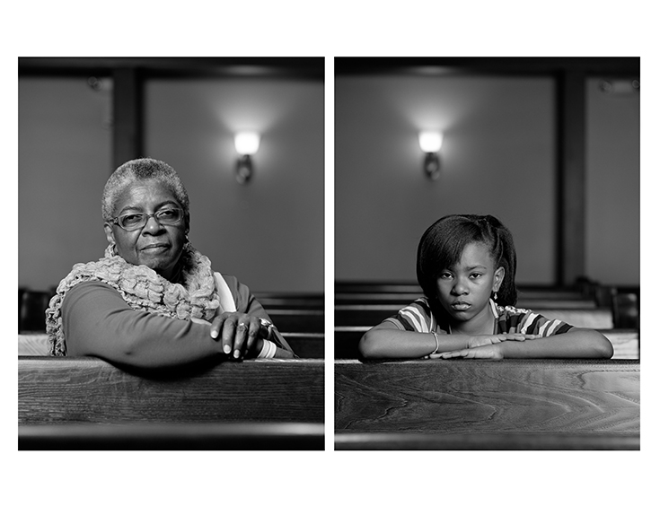Dawoud Bey, The Birmingham Project: Mary Parker and Caela Cowan, 2012