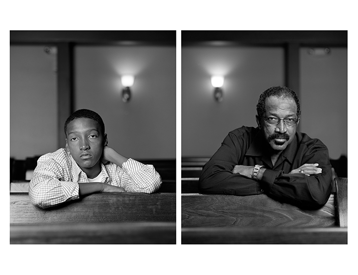 Dawoud Bey, The Birmingham Project: Braxton McKinney and Lavone Thomas, 2012