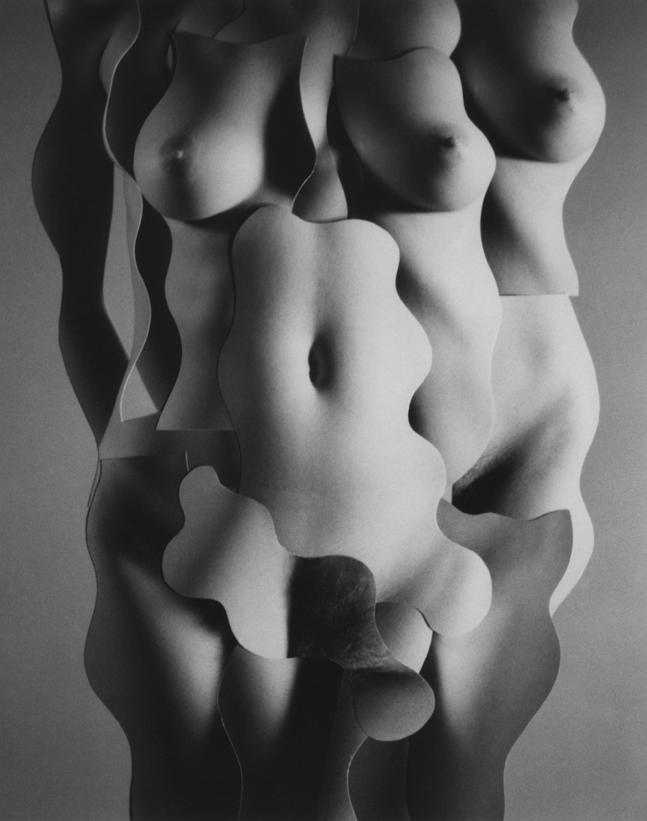 Nude Compostion #32 2002 gelatin silver print 6 x 4 3/4 inches