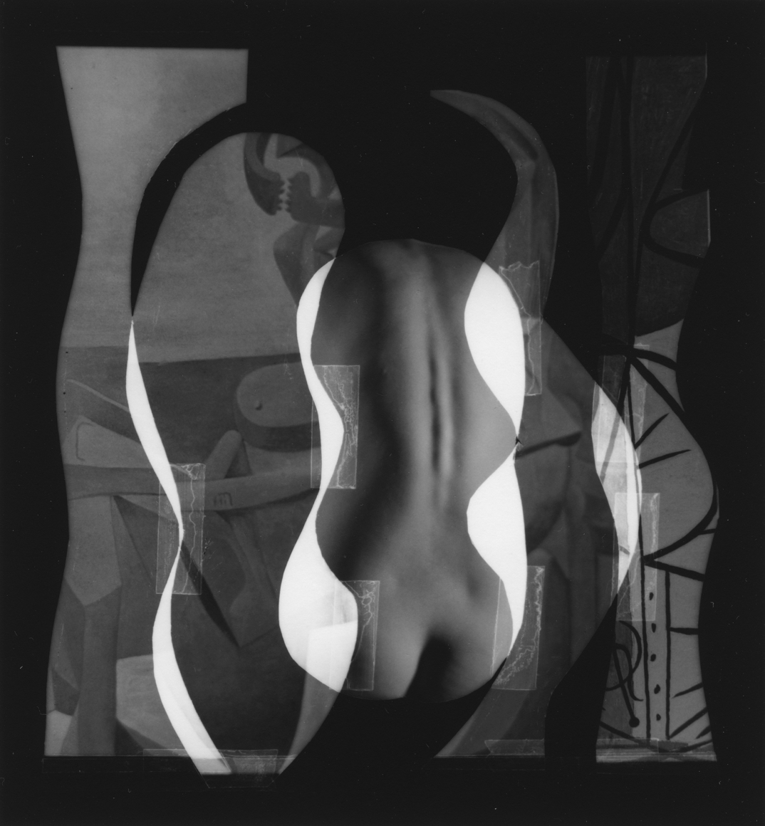 Nude Composition #12 1996 gelatin silver print 4 1/4 x 4 1/4 inches