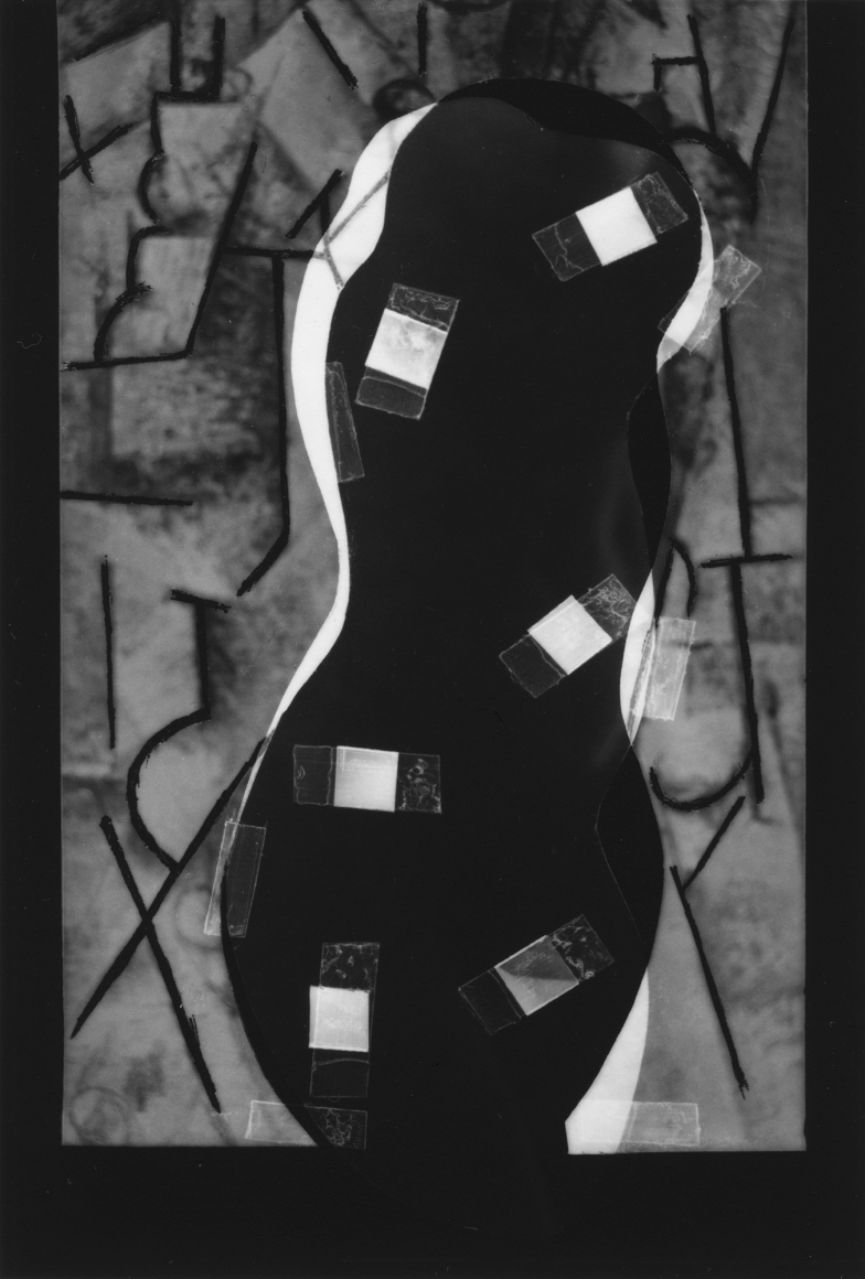 Nude Composition #15 1996 gelatin silver print 4 1/2 x 3 inches