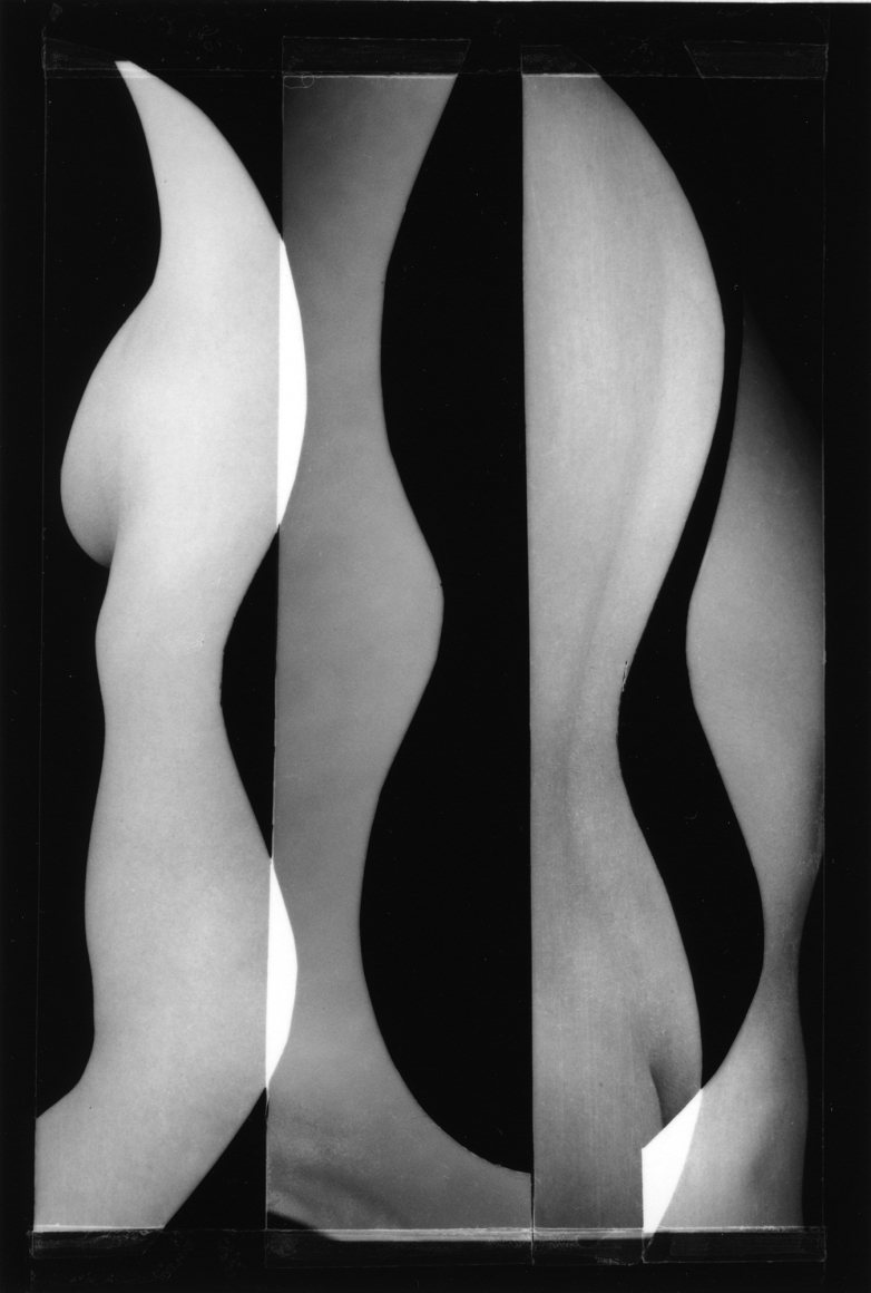 Nude Composition #10 1996 gelatin silver print 5 1/2 x 3 images