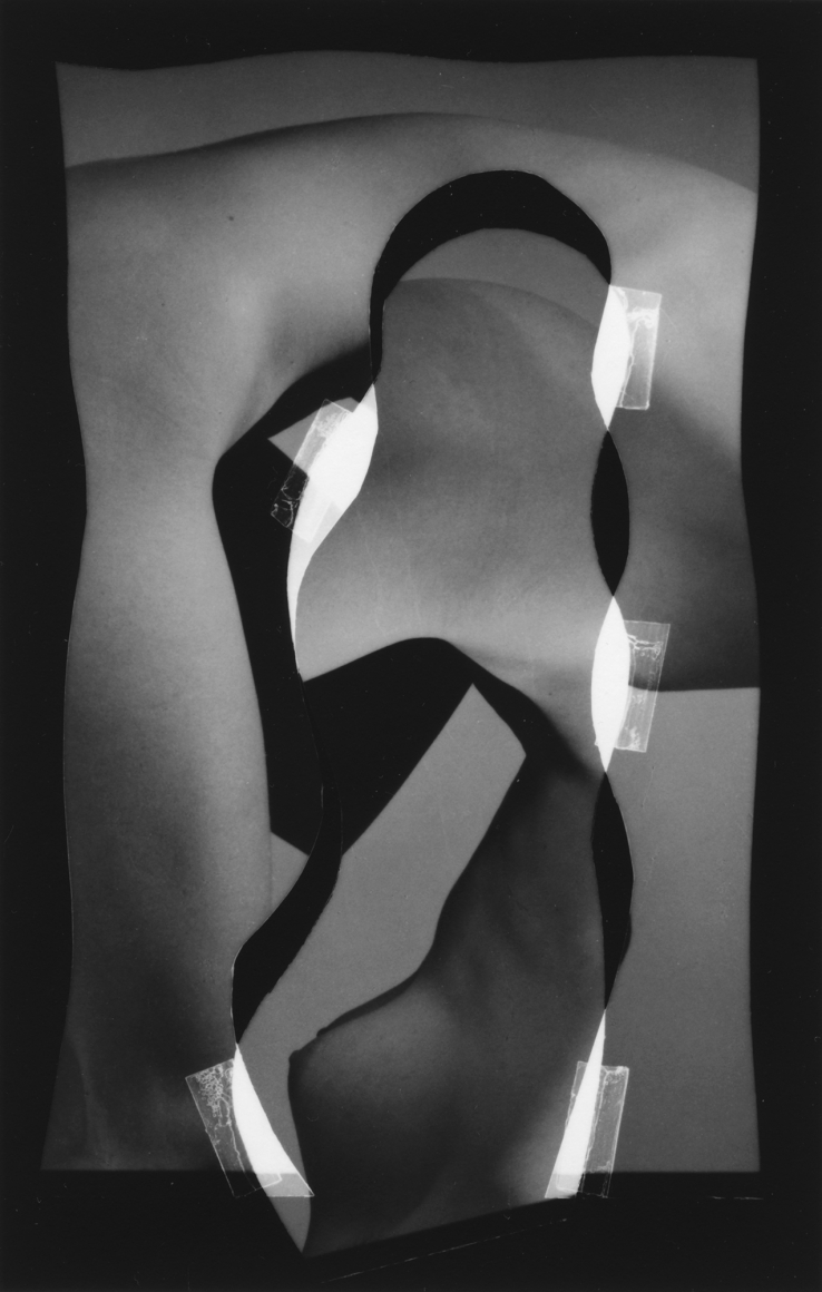 Nude Composition #18 1996 gelatin silver print 4 1/2 x 3 inches