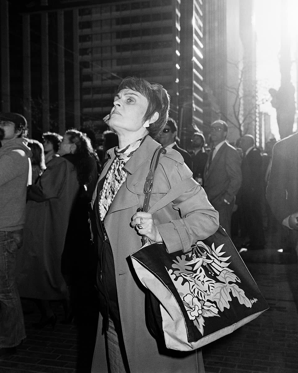 Woman on Market Street 1987