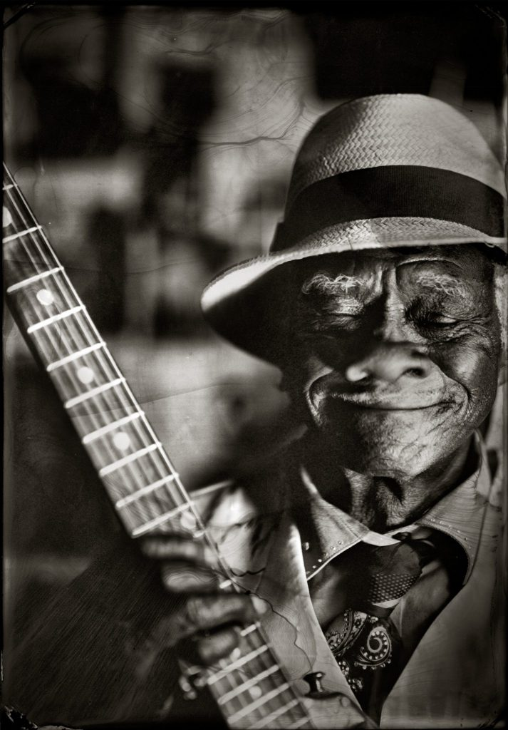 Little Freddie King, New Orleans, LA, 2014  2014  Timothy Duffy (American, b. 1969)  Tintype