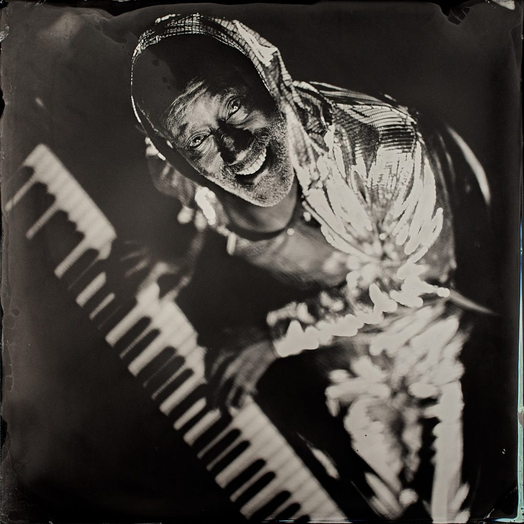 Ironing Board Sam (Sammie Moore), 9th Wonder of the World, Hillsboro, NC, 2015  2015  Timothy Duffy (American, b. 1969)  Tintype