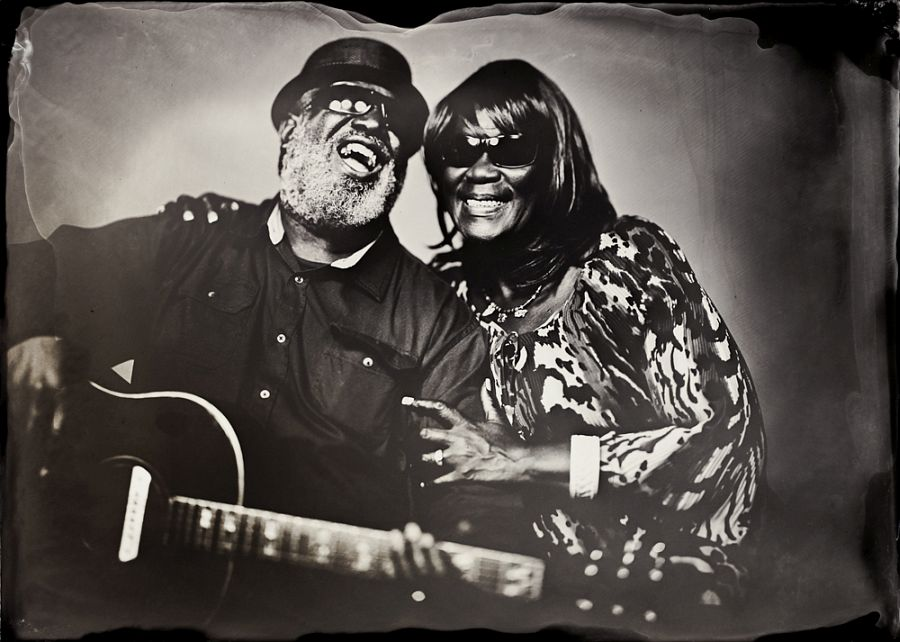Big Ron and Belinda Hunter, Hillsborough, NC Pigment Print Print Date: 2019