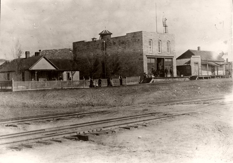 Manhart Store and house, Plum Avenue, Sedalia, Colorado, 1895