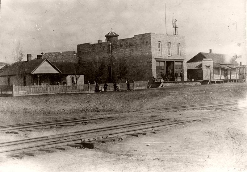 Manhart Store and house, Plum Avenue, Sedalia, Colorado, 1895