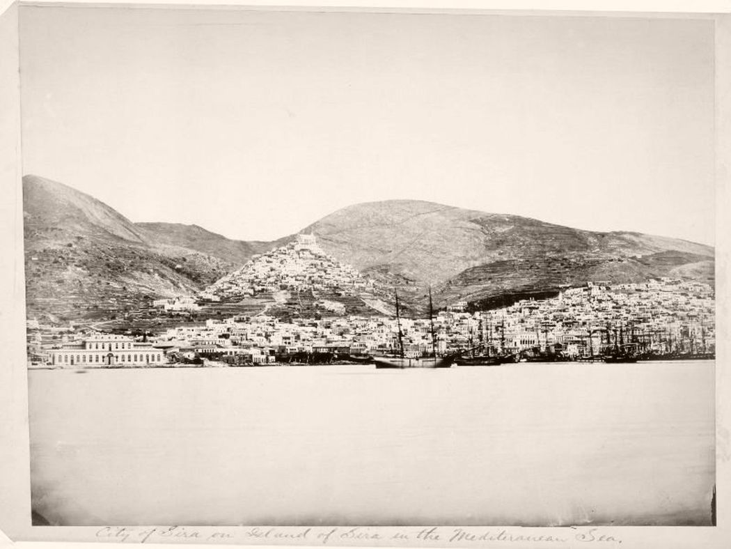 Ermoupoli, Greece, 1865