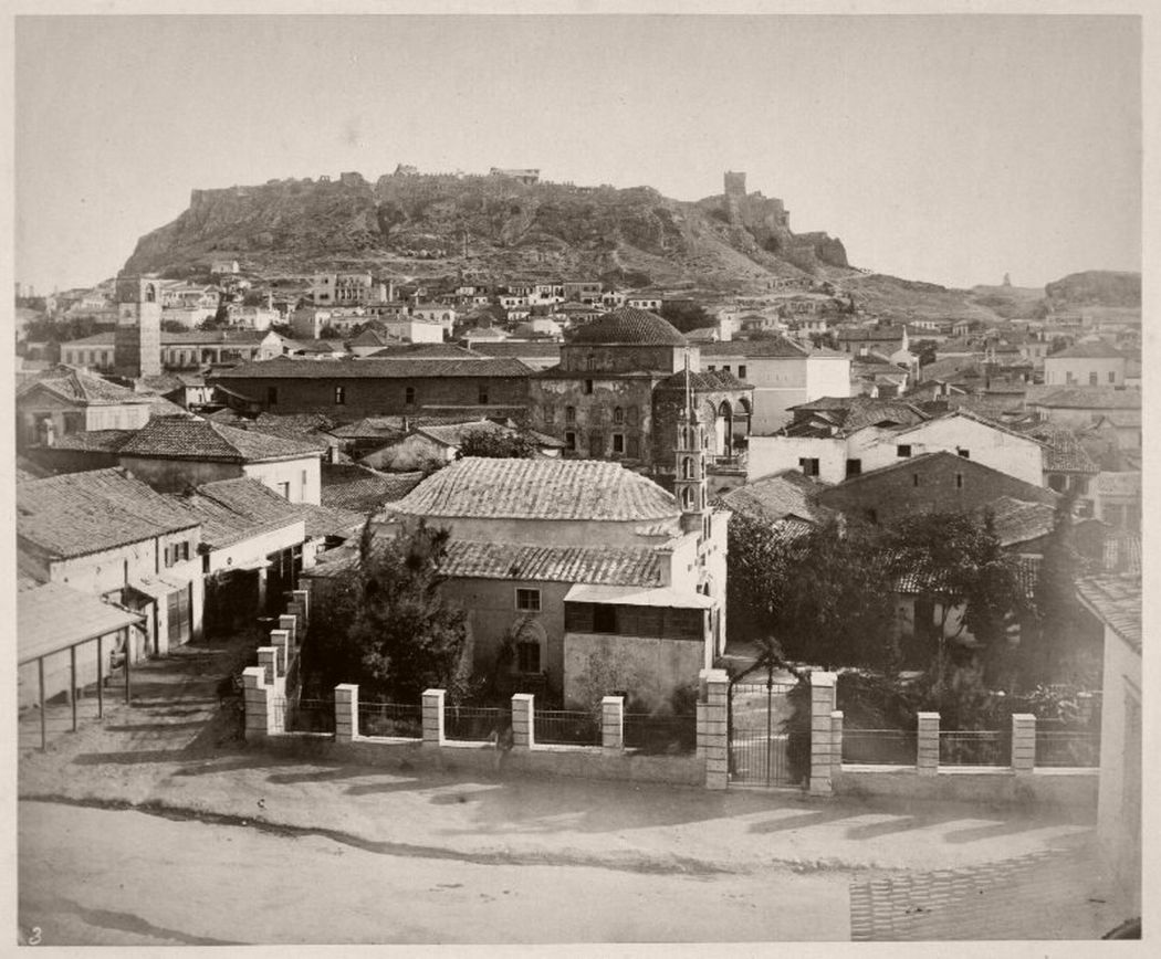 Monastiraki, Athens, Greece, 1869