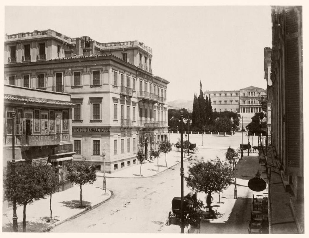 Syntagma, Athens, Greece, 1890