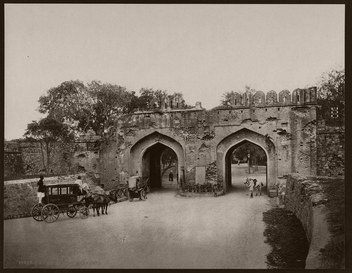 Delhi. Kashmere Gate