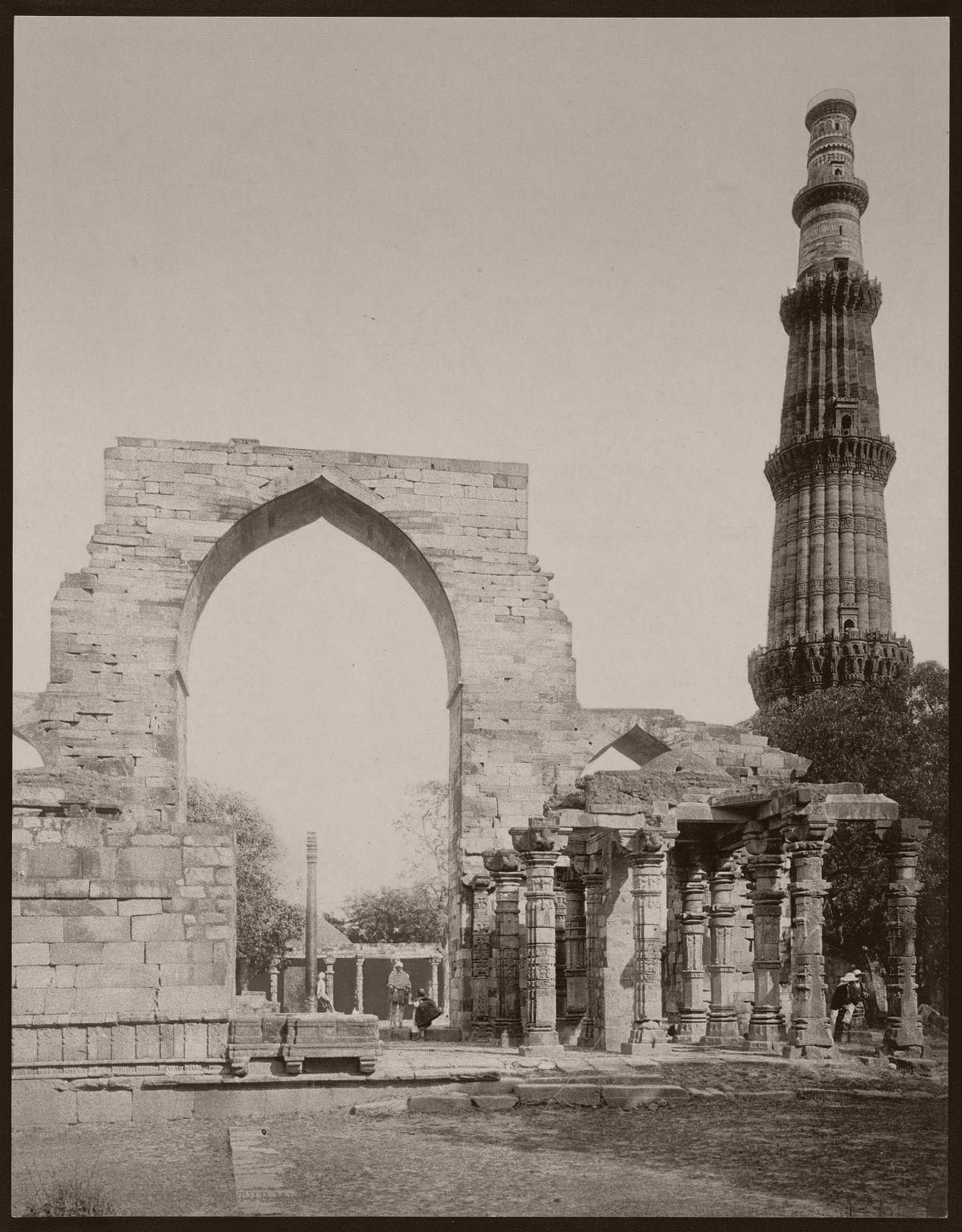Delhi. Kutub Minar
