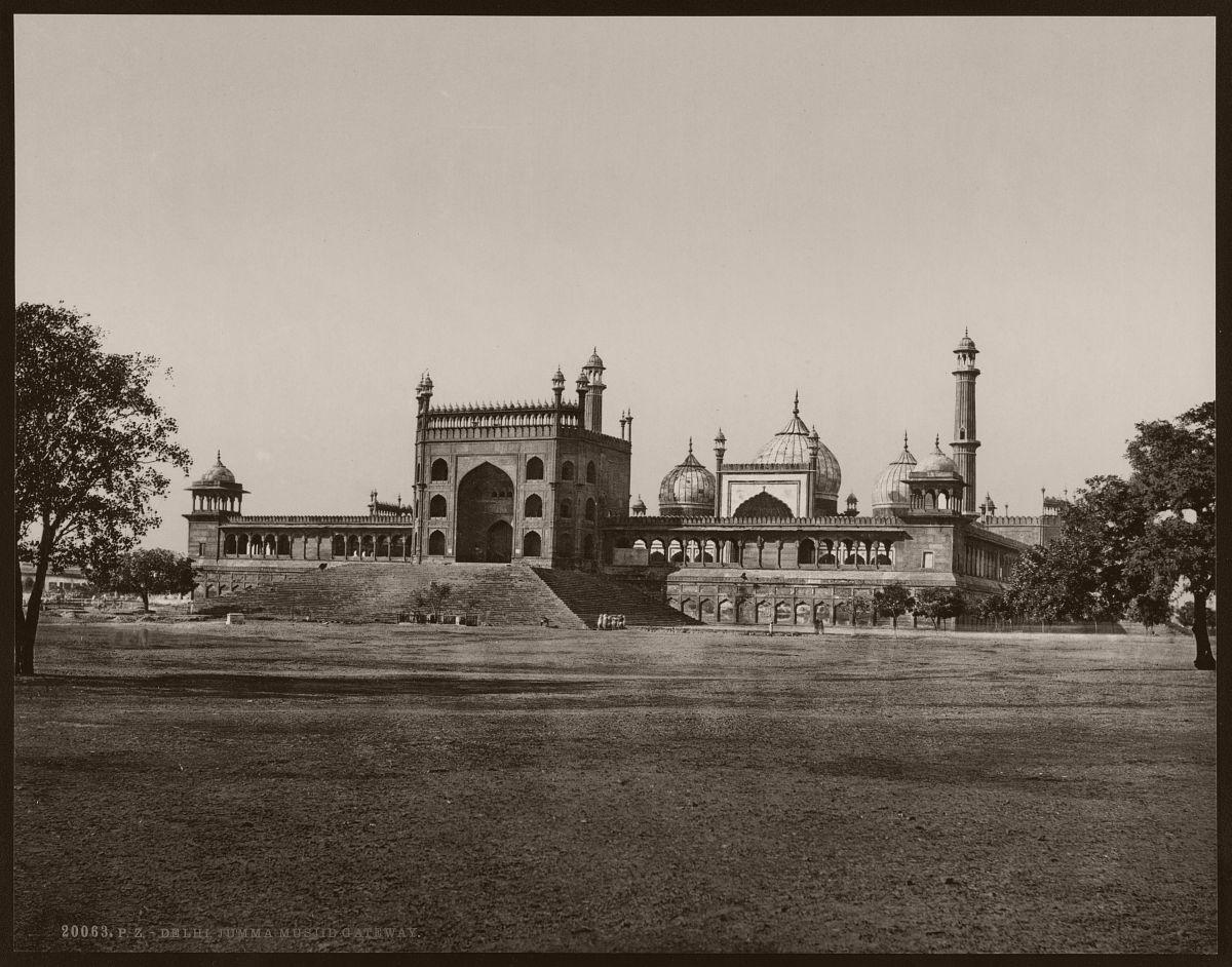 Delhi. Jumma Musjid Gateway