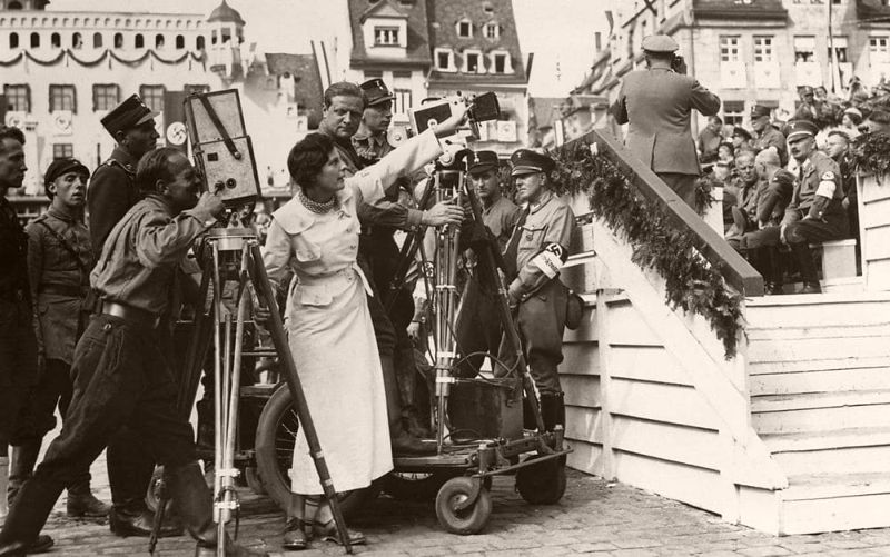 CREDIT: GETTY/PROPAGANDA PRINCESS: LENI RIEFENSTAHL DIRECTING