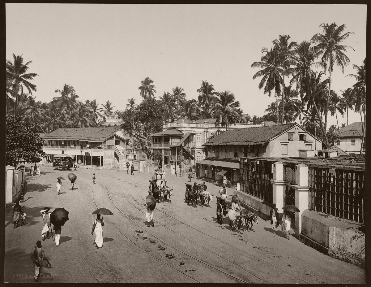 Bombay. Girgaum Road