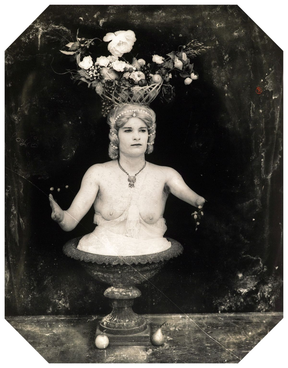 "Joel-Peter Witkin, Abundance, Prague, 1997  From the Photographic Works series  20 x 16"", 40 x 30"" gelatin silver print Edition of 10 + 3 AP's, 12 + 3 AP's"