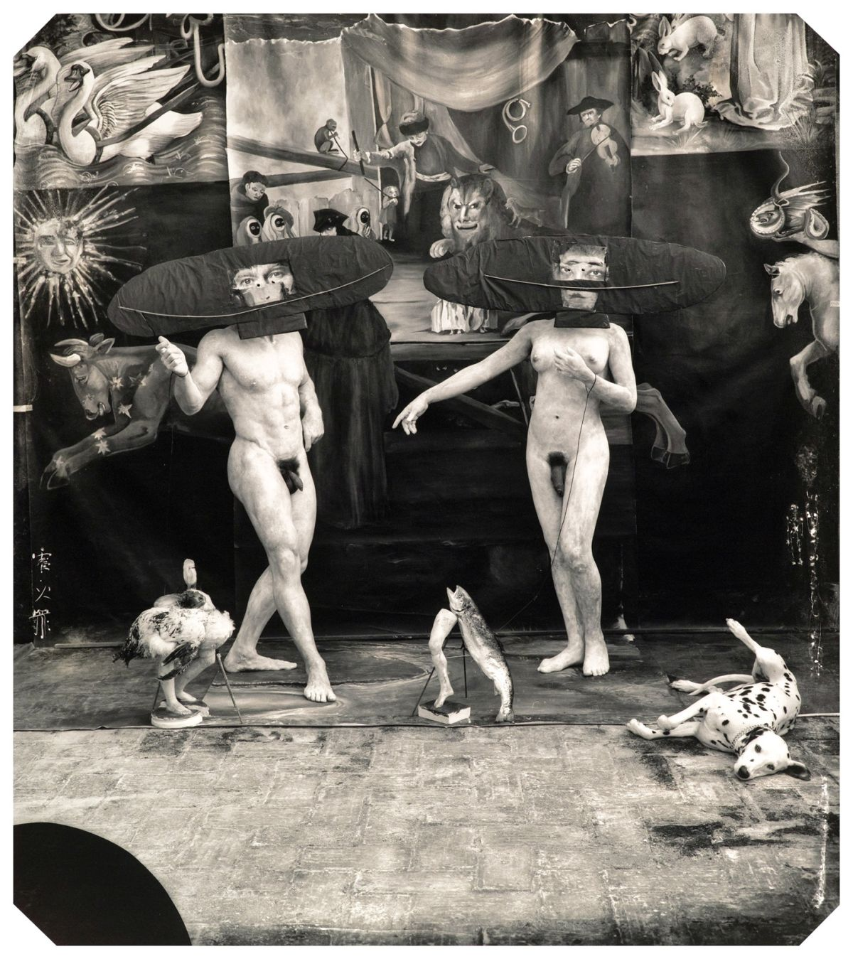 "Joel-Peter Witkin, The Eggs of My Amnesia, Rome, 1996  From the Photographic Works series  20 x 16"", 40 x 30"" gelatin silver print Edition of 6 + 3 AP's, 12 + 3 AP's"