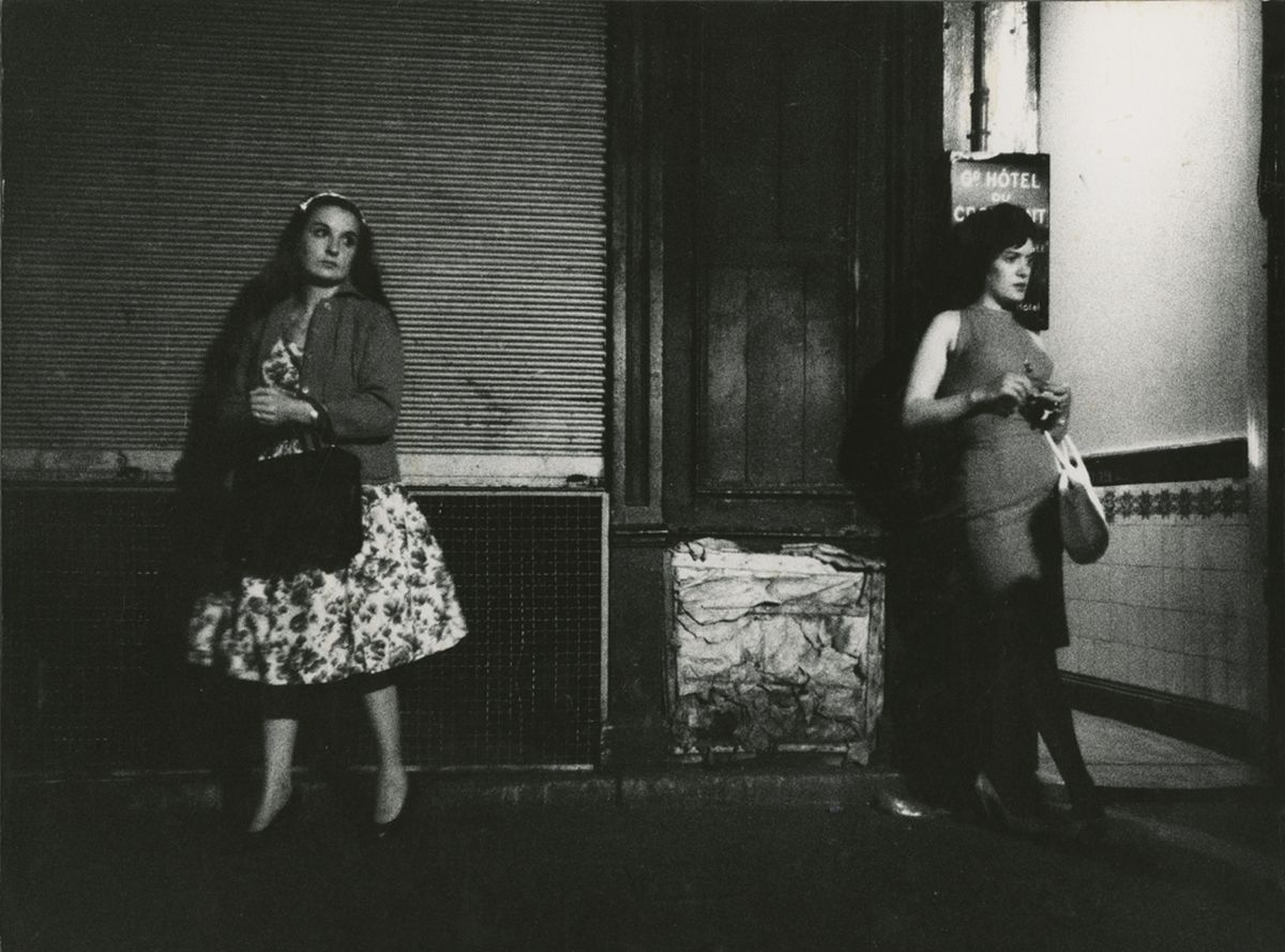 Rue Saint-Denis, Paris, by Marvin E. Newman: On the Avenues. 1960