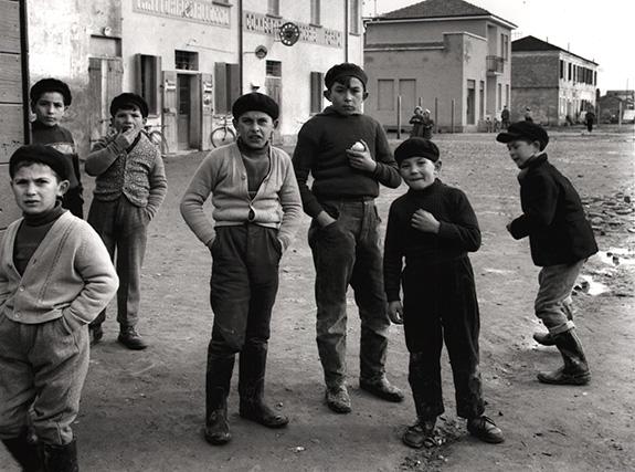 Nino Migliori, Gente del Delta, 1958