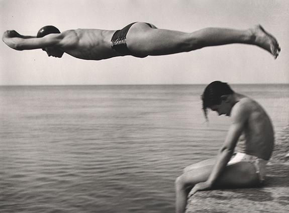 Nino Migliori, Il Tuffatore, 1951