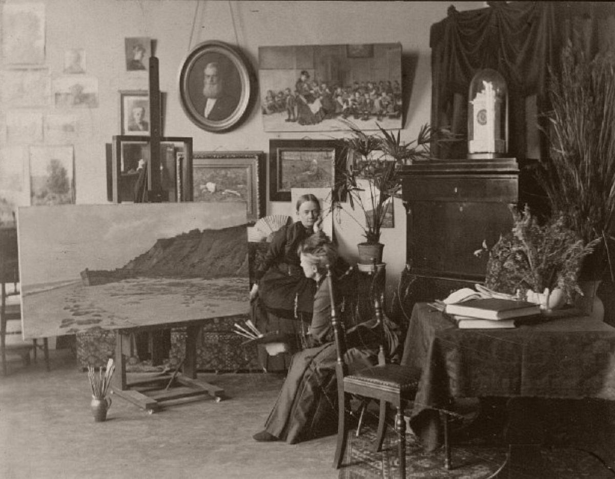 Marie Luplau by Mary Steen circa 1885