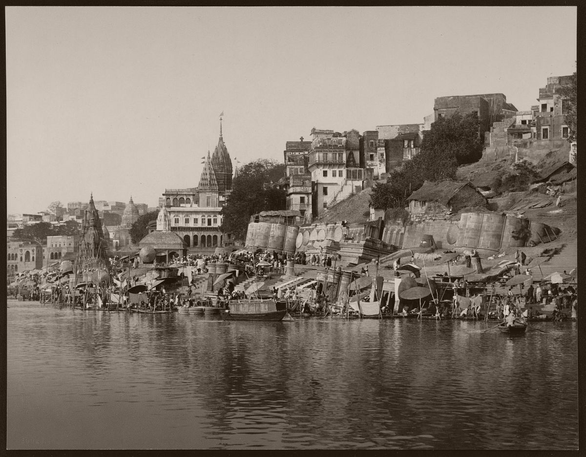 Benares. The Maharajah's of Nagbur Ghat